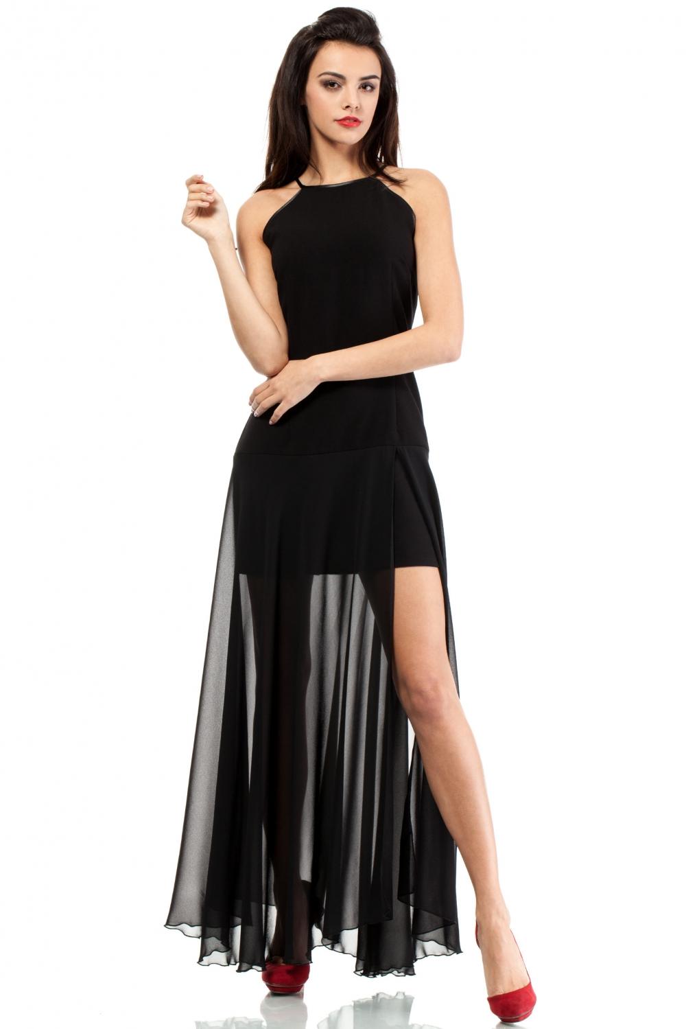 Večerní šaty MOE199 černé