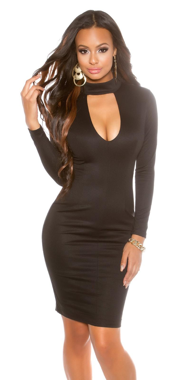 Koktejlové šaty Koucla černé