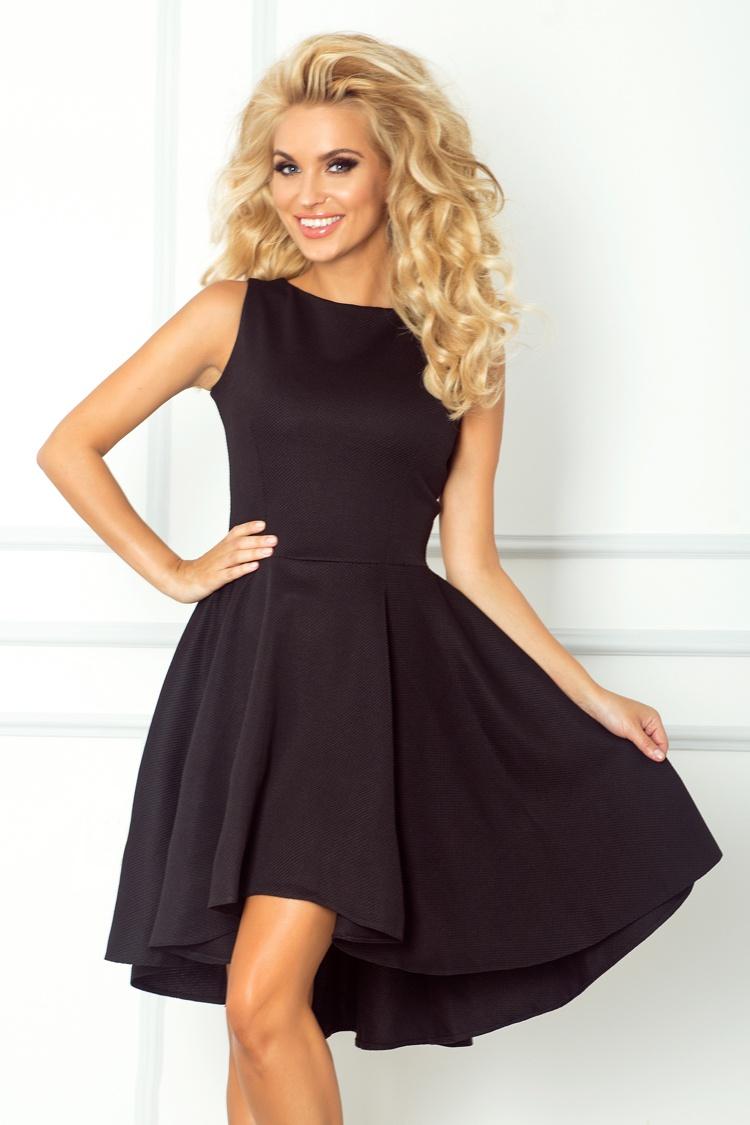 Luxusní společenské a plesové šaty Numoco černé