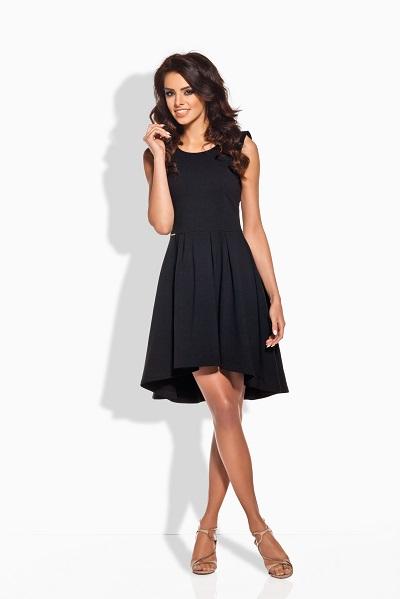 bdaabc2de69 Stylové dámské šaty bez rukávů černé | Bella Boutique - móda pro ...