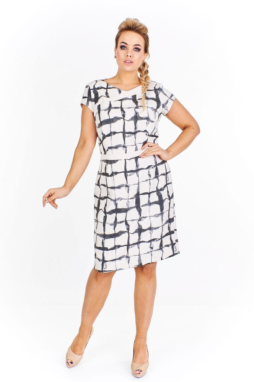 Koktejlové šaty Hali vzorované  9ed36b0cd4
