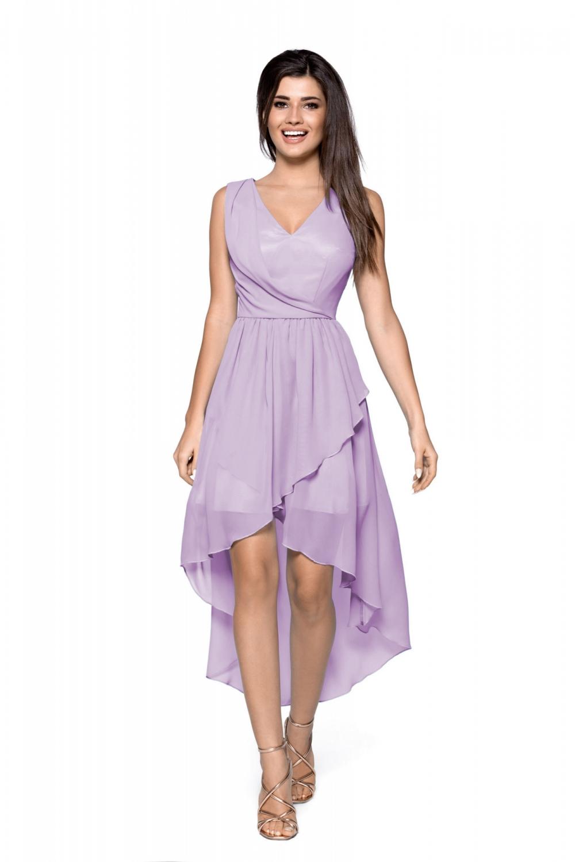 Koktejlové šaty Kartes KM268-4 fialové  81a77213e4