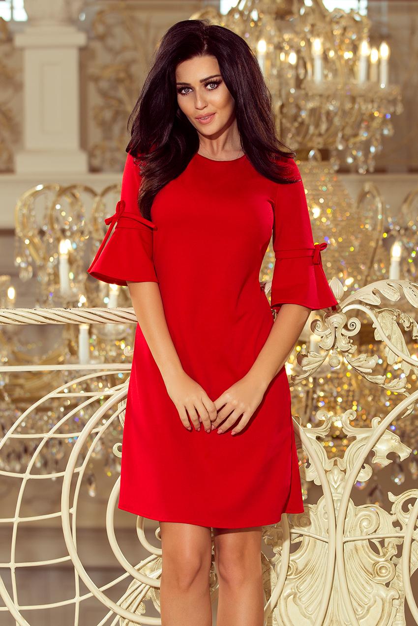 2e16a329a0e Krátké dámské šaty Neva Numoco 217-1 červené