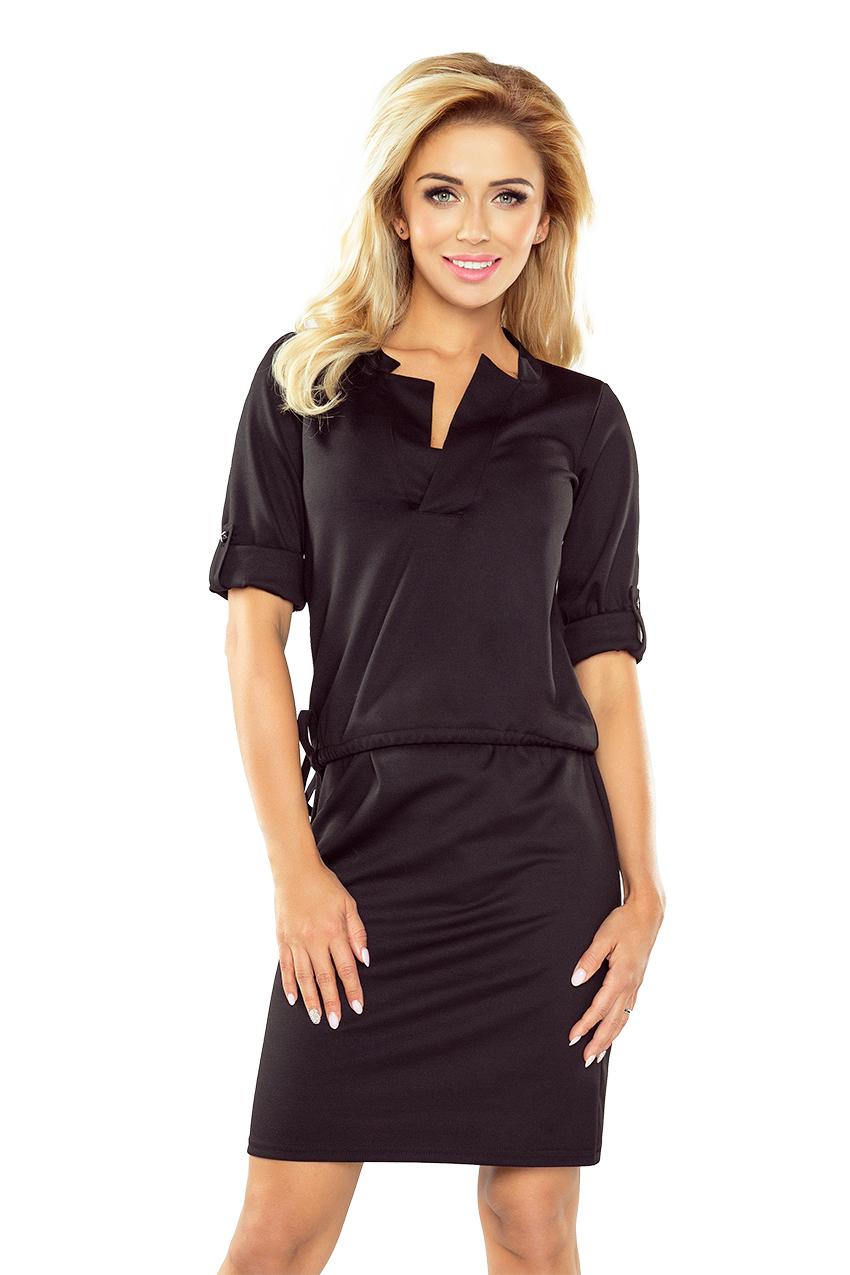 Dámské šaty na denní nošení Numoco 161-1 černé empty 5323aa951bb
