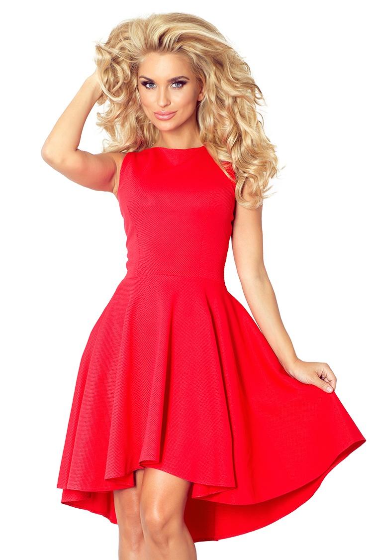 Luxusní společenské a plesové šaty Numoco červené