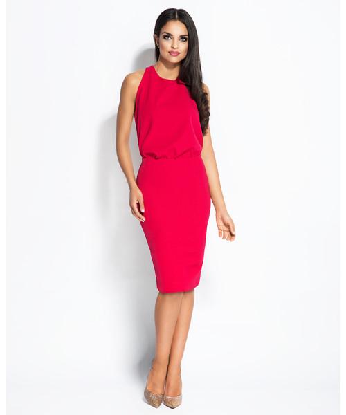 Sexy šaty Dursi Bayon fuchsiové