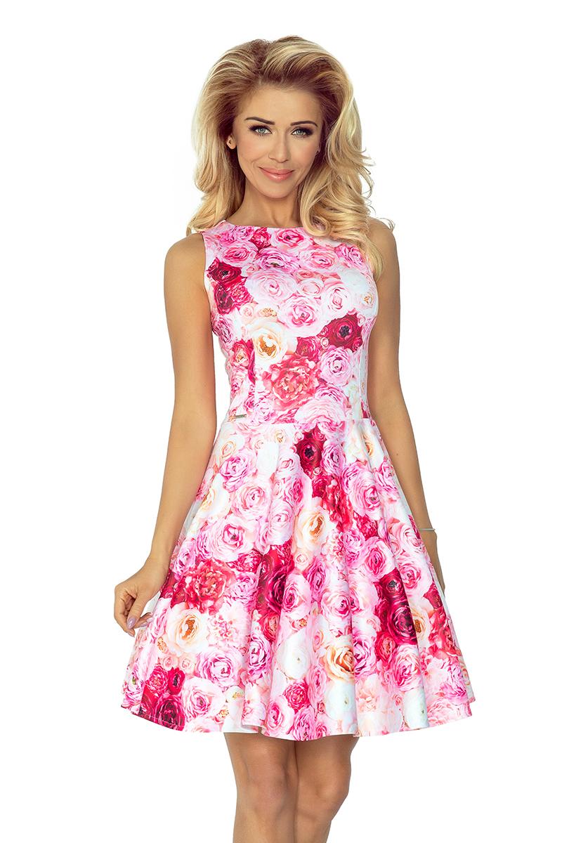 Šaty s růžemi NUMOCO 125-16