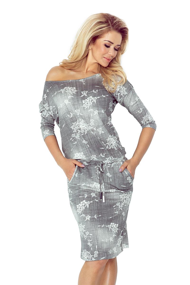 Sportovní šaty NUMOCO 13-57 šedé
