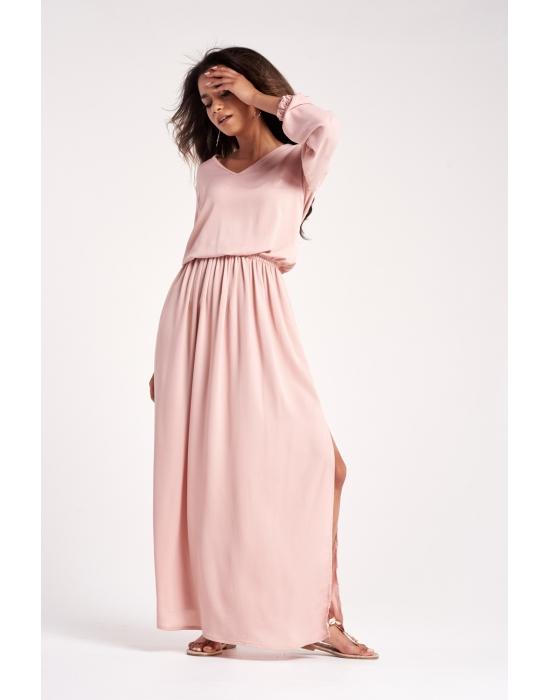 Maxi šaty MOSQUITO růžové